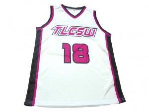 Custom design Basketball Jersey pink