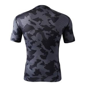 ラッシュガードスポーツウェア圧縮Tシャツ