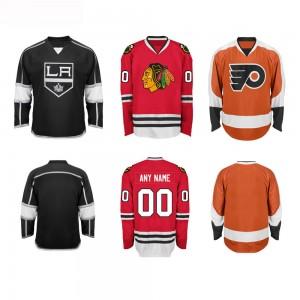 Team Wear Wholesale Printed Funny Custom Ice Hockey Jersey