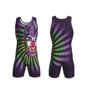 new design sportswear custom sublimation youth wrestling singlet