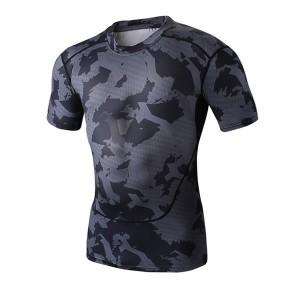 rash guard sportswear compression t-shirt